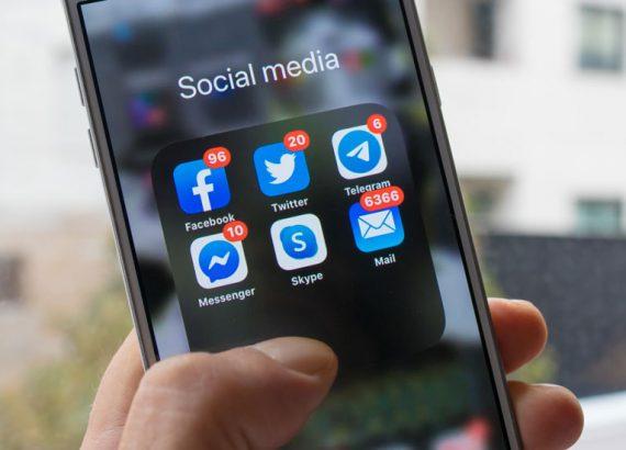 Bewerbung und soziale Medien